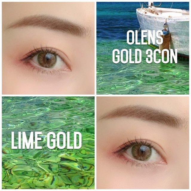 美瞳推荐|韩国Olens Gold...