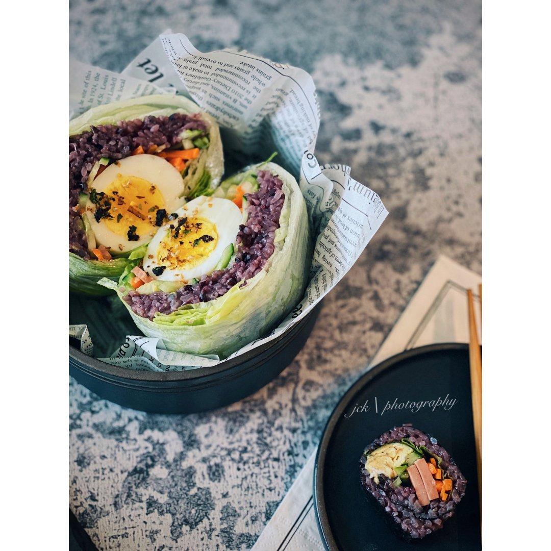 今日份的午餐 |轻食日式料理➕蔬菜三明治