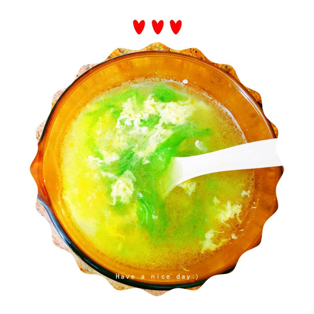【夏日食堂】鲜美清爽的丝瓜粉丝汤