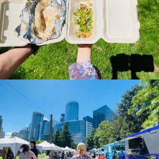 西雅图SLU农夫市场重开啦❗️周六午饭搞...