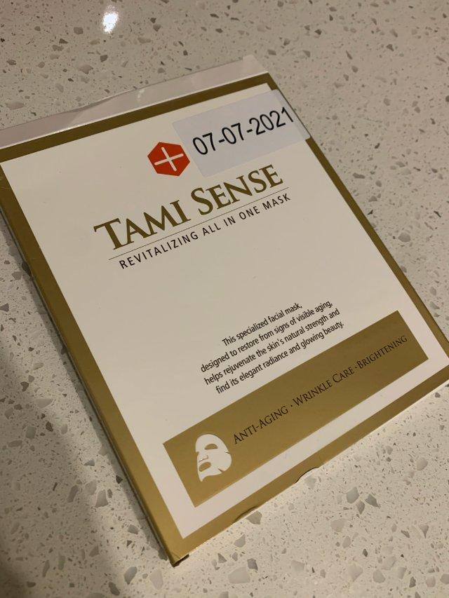 Tami Sense 干细胞面膜初体验
