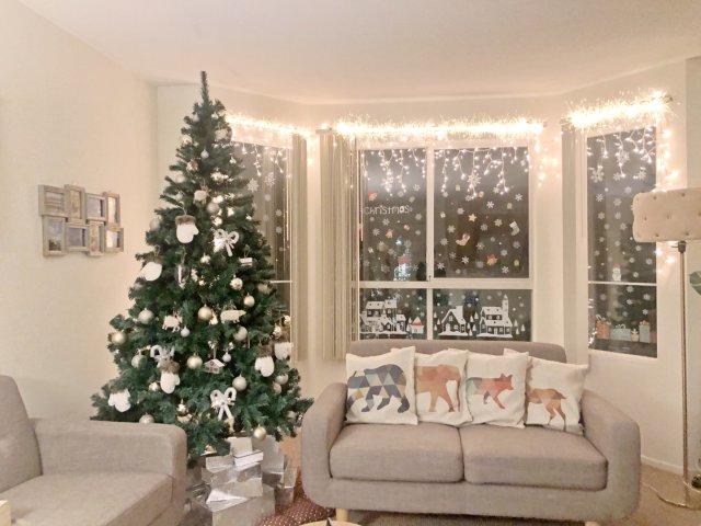 $15买的超值7.5 ft圣诞树🎄🎄🎄