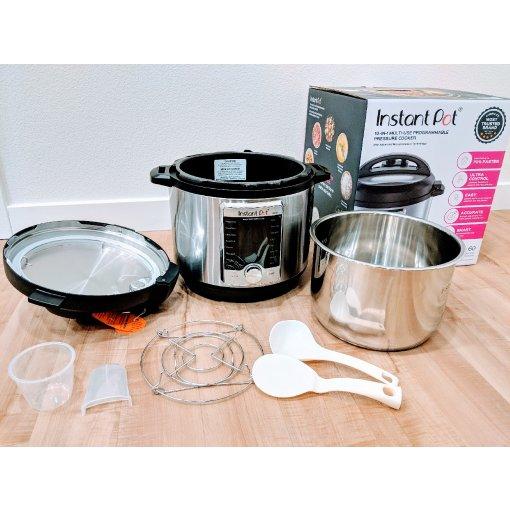 #众测晒货-Instant Pot 10合1电压力锅