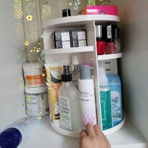 360度 可旋转化妆品收纳盒
