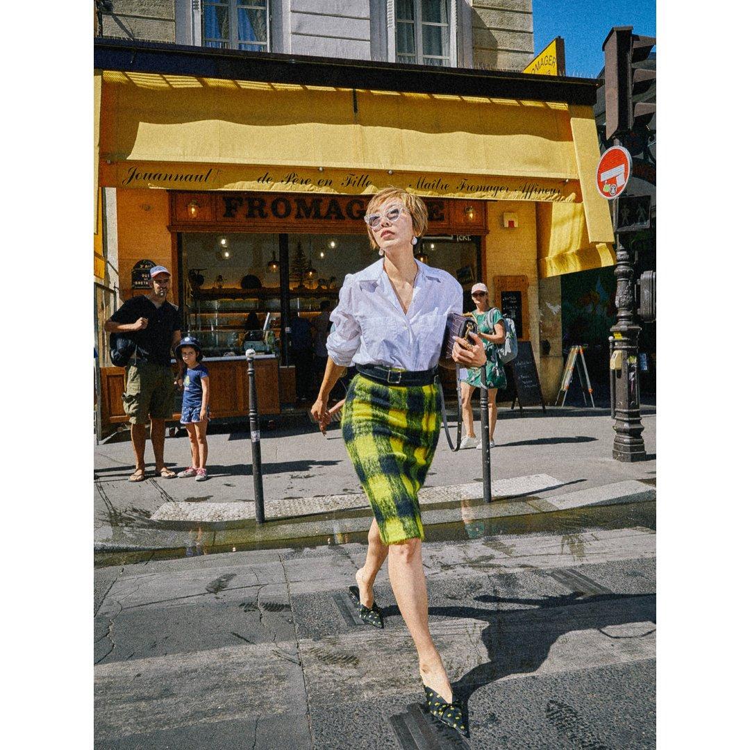 巴黎街拍~高光时刻!