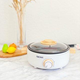 微众测|颜值好🉑️又实用的Aroma多功能料理锅