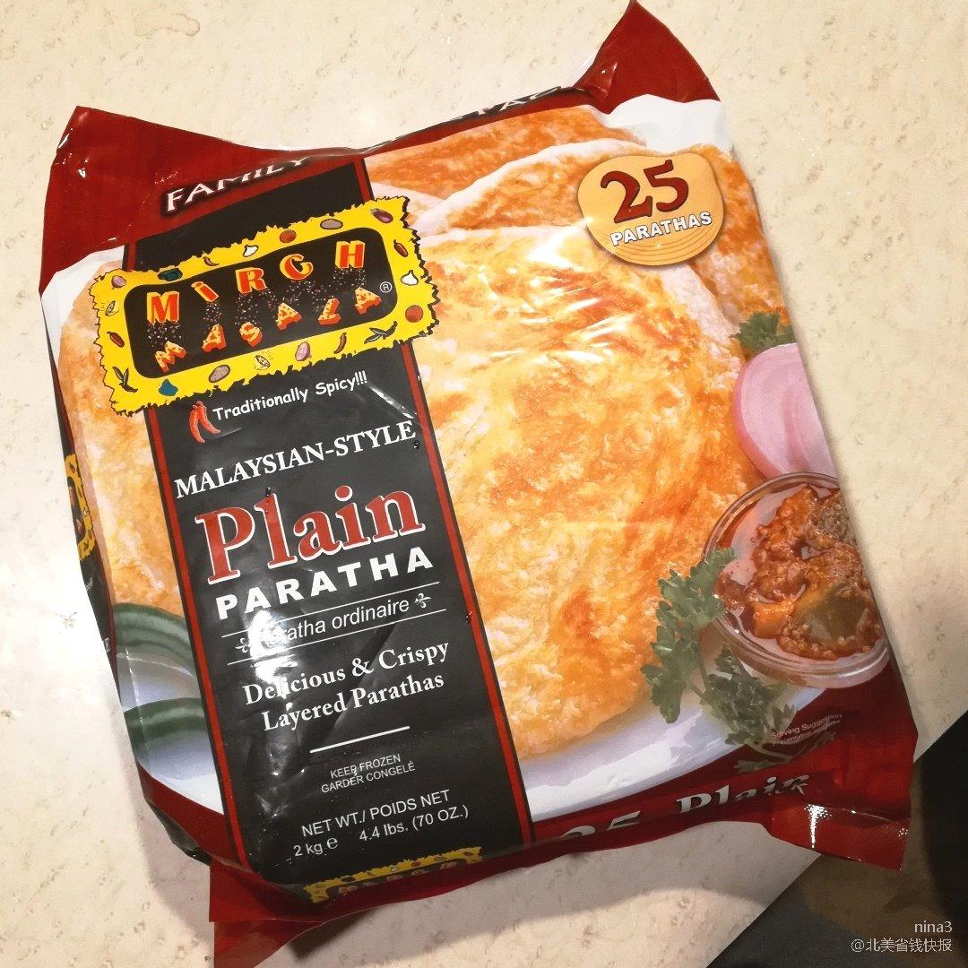 中式葱油饼的替代物一一酥香Paratha