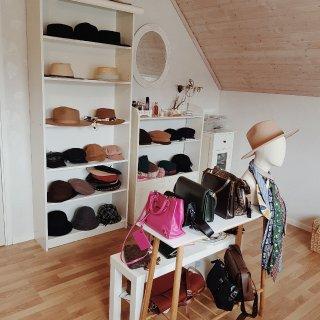 帽子和包包区,首饰区