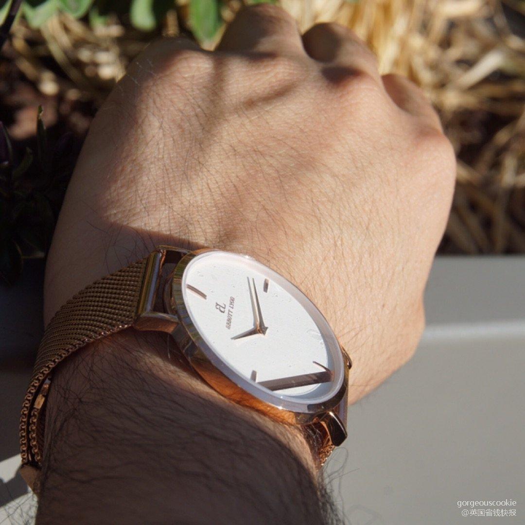 超爱这款Abbott Lyon的手表