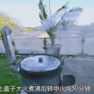后院柴火锅炖菜——【一锅出】...