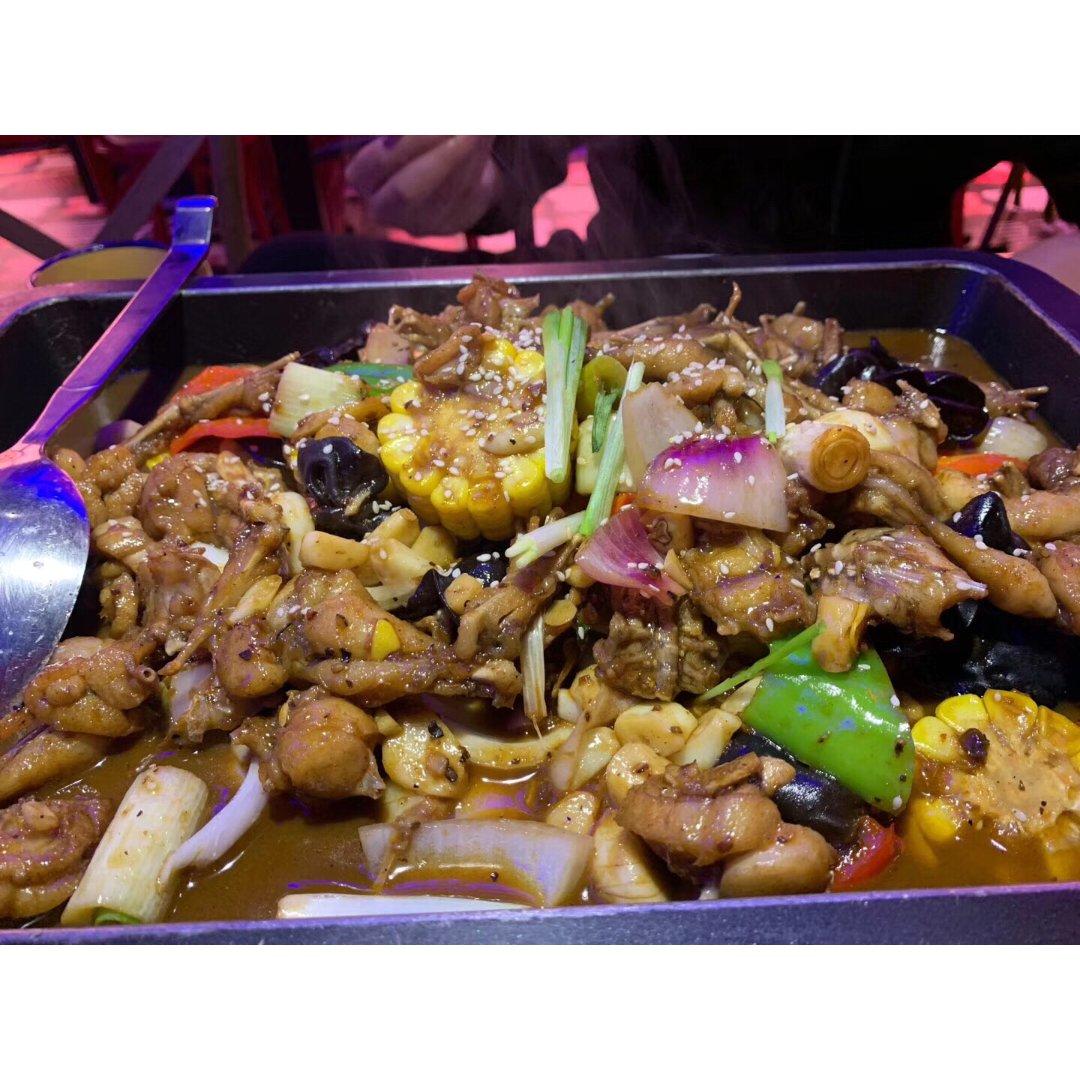 回国必吃|牛蛙锅(晚餐)