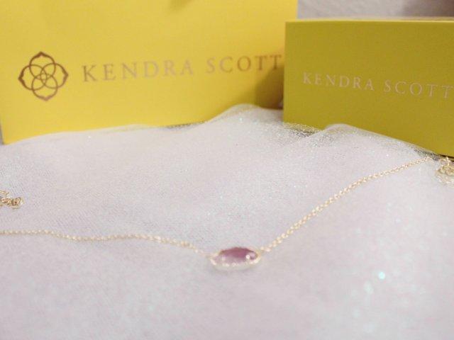 礼物|Kendra Scott紫水晶项链