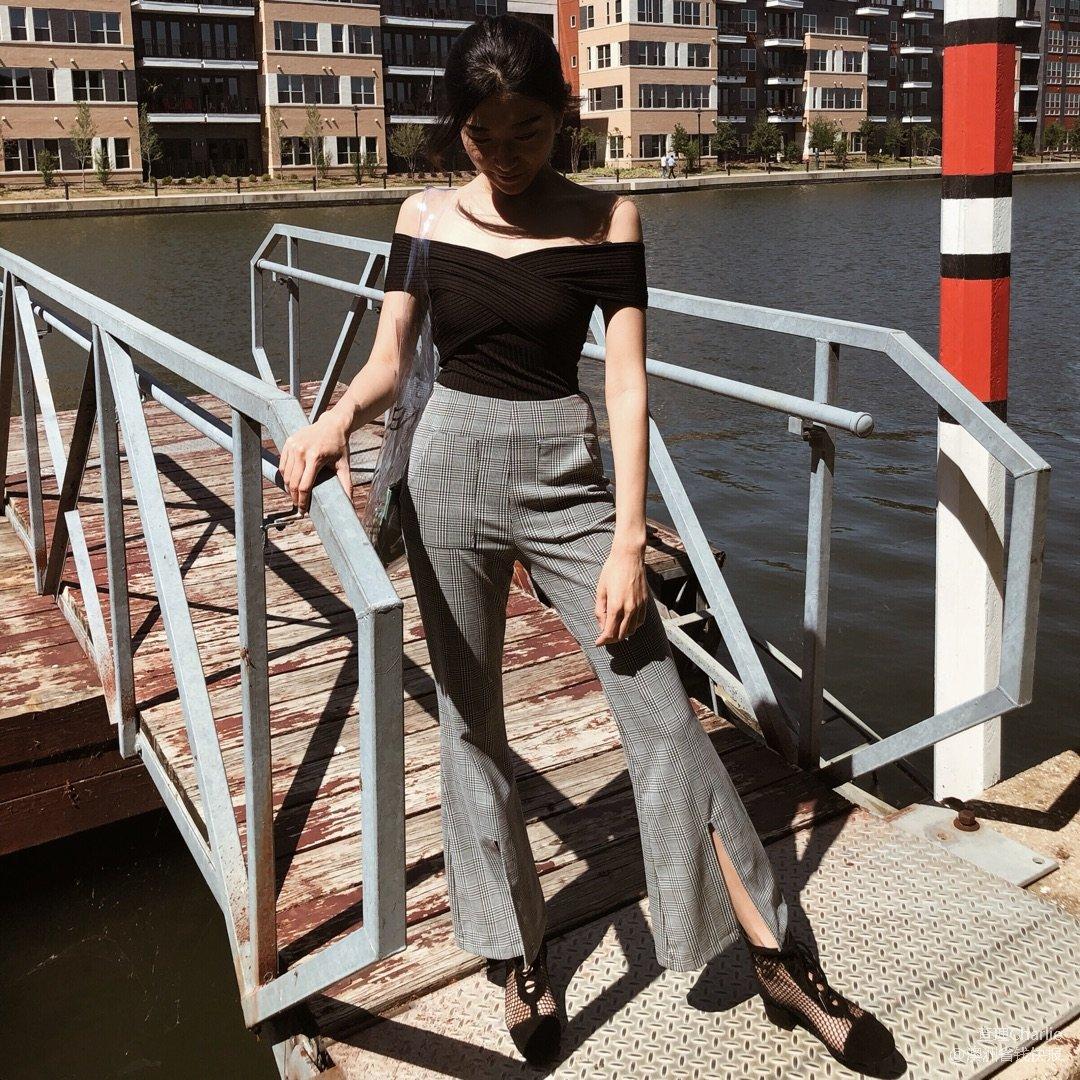 阔腿裤的春天!