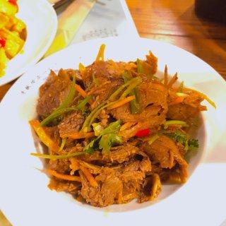 鲜椒拌牛肉