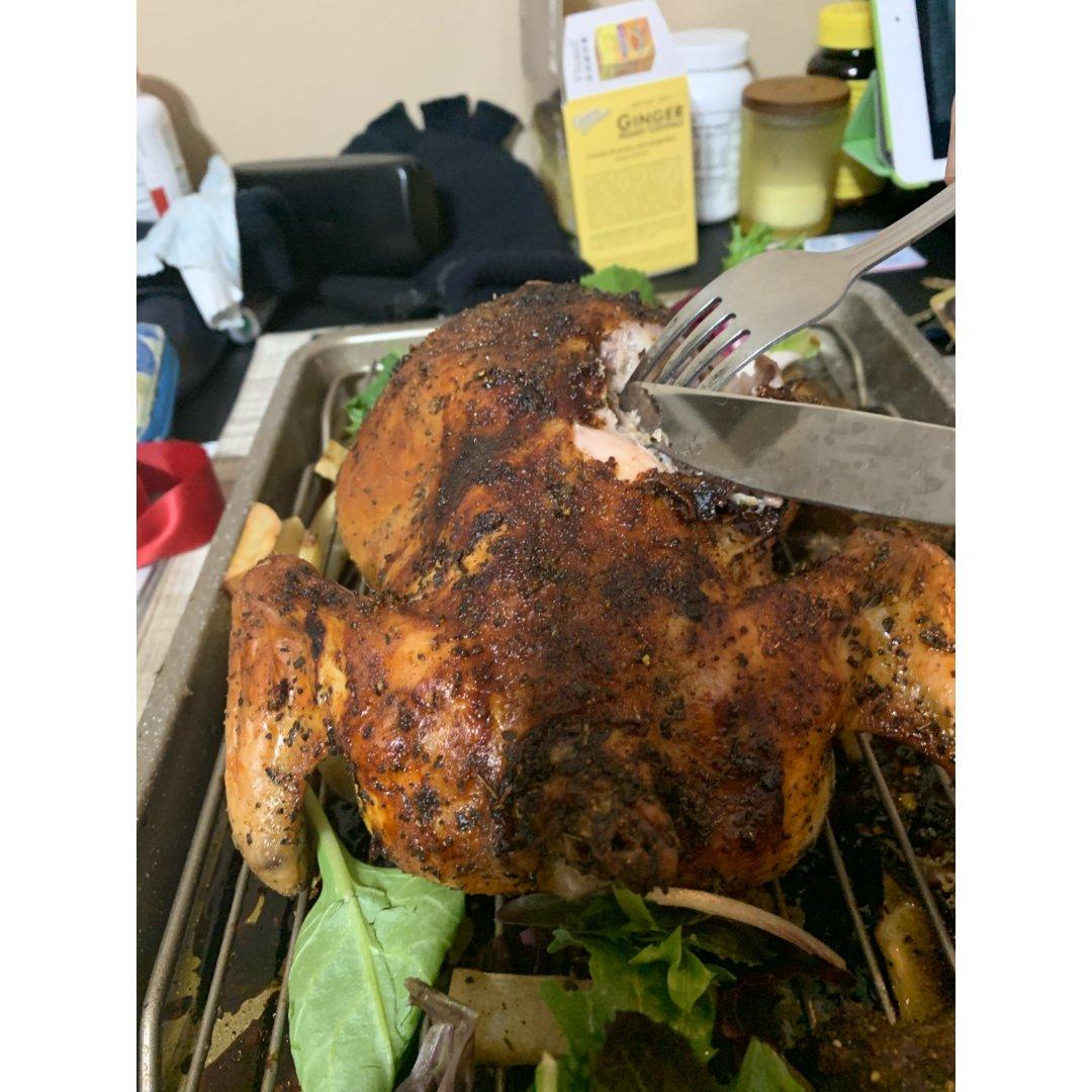 感恩节烤鸡!