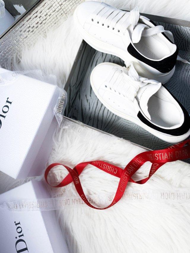 """自制McQueen·Dior""""限量..."""
