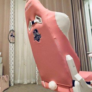 少女粉电竞椅你值得拥有!...