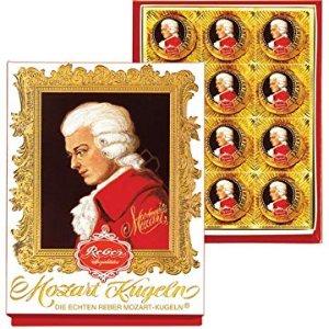 Amazon.com : Reber Mozart Kugel - Medium Portrait Box : Chocolate Truffles : Grocery & Gourmet Food