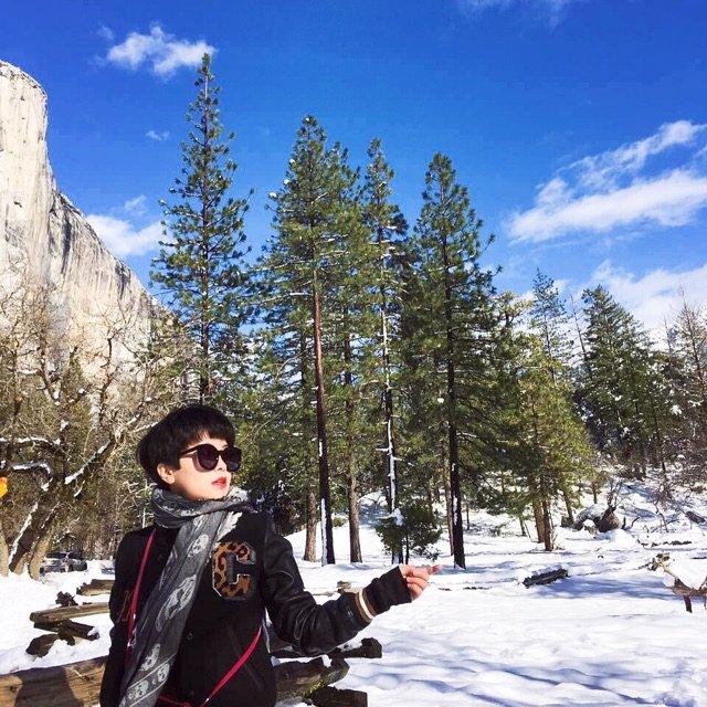 优胜美地冬天好美,每一步都是美景!...