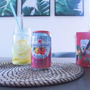 圣培露血橙味果汁气泡水 24罐