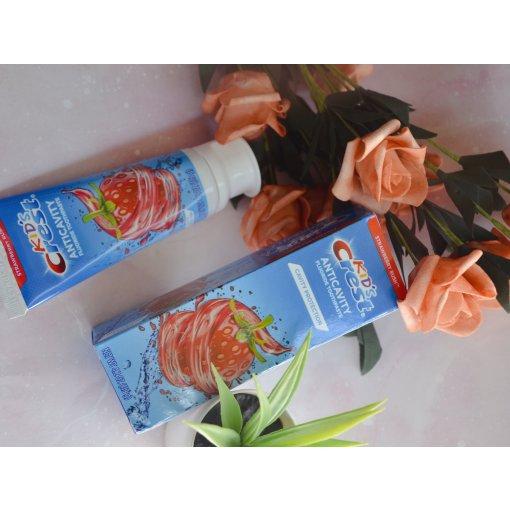 草莓🍓牙膏,让孩子更爱刷牙