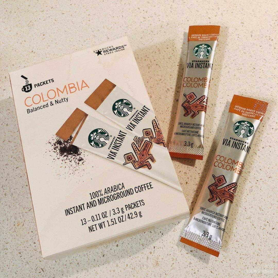 星巴克速溶咖啡粉|方便冲泡 香气浓郁
