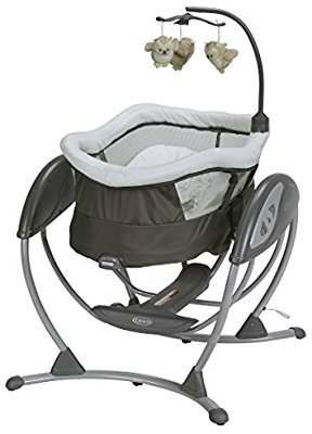 $125Graco DreamGlider Gliding Swing and Sleeper, Percy