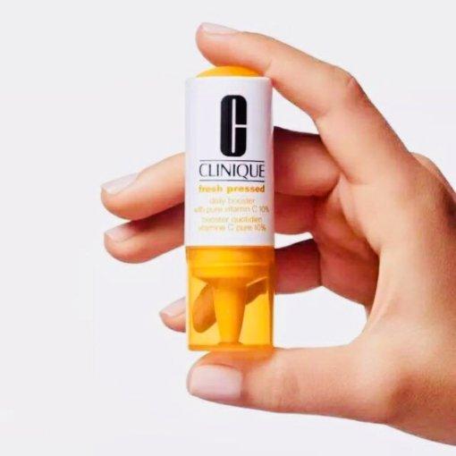 CLINIQUE抗氧化维C安瓶精华⭐️跟风走一波❤️