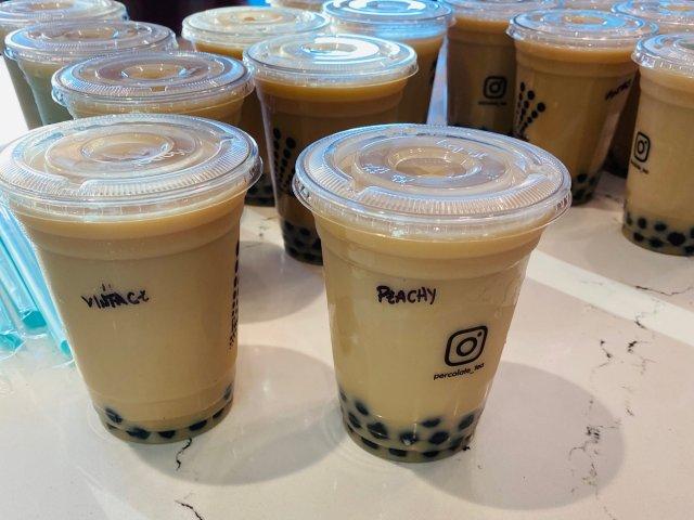 【7天乐】percolate奶茶