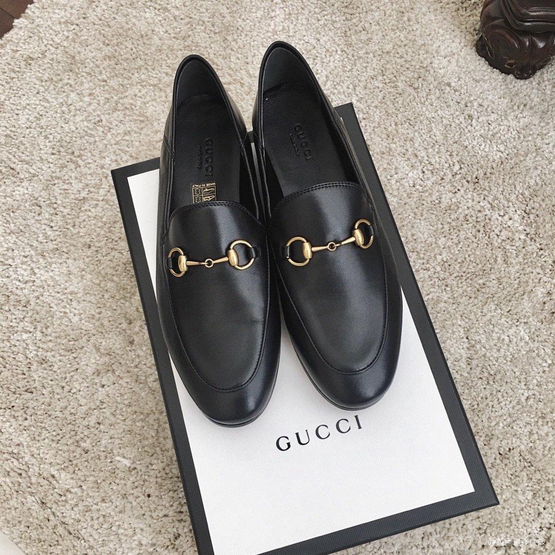 Gucci 小羊皮脚踩乐福鞋...