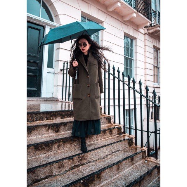 美是路人,酷才是女神✨英國妞冬季穿...
