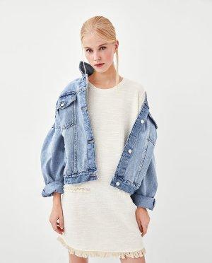 FRINGED TWEED DRESS-Mini-DRESSES-WOMAN-AW/18 | ZARA United States
