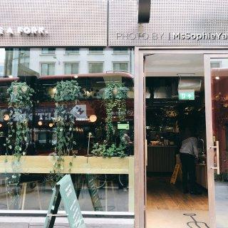 伦敦美食 伦敦金融城附近的轻食店...