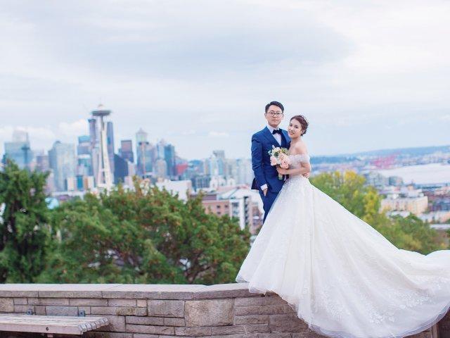 西雅图prewedding拍照攻略...