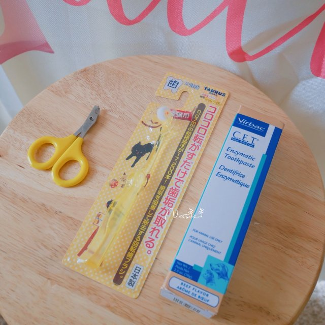 猫咪用品推荐:牙刷牙膏、剪指甲、湿...