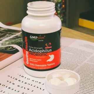 微众测 | GMP Vitas 益生菌咀嚼片 | 保健品