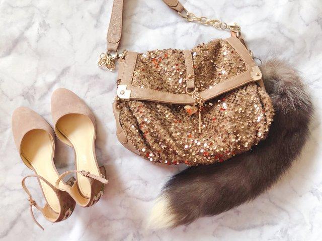包包鞋子一个色🍃经典裸