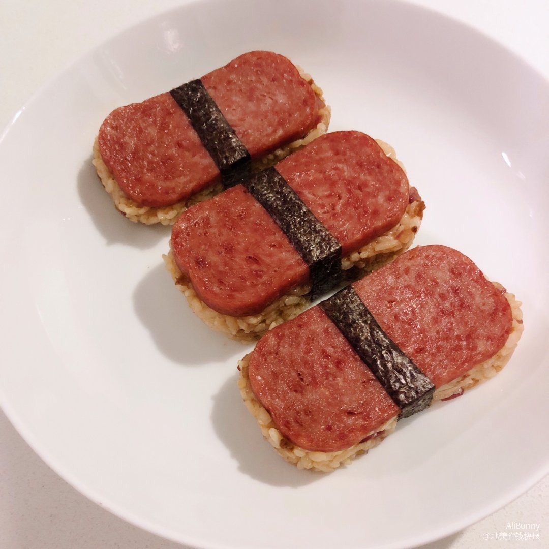 午餐肉寿司 spam musubi
