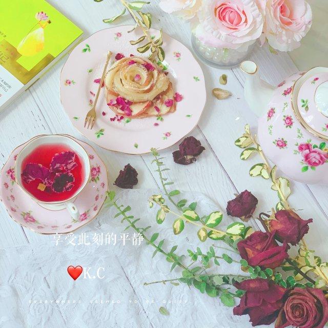 玫瑰苹果挞,少女情怀总是诗