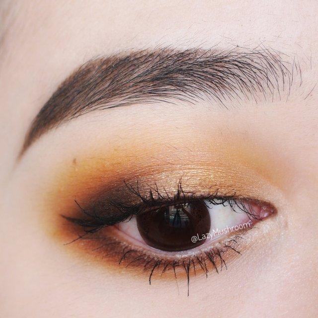 黄油蜂蜜眼妆 | 一个仿妆