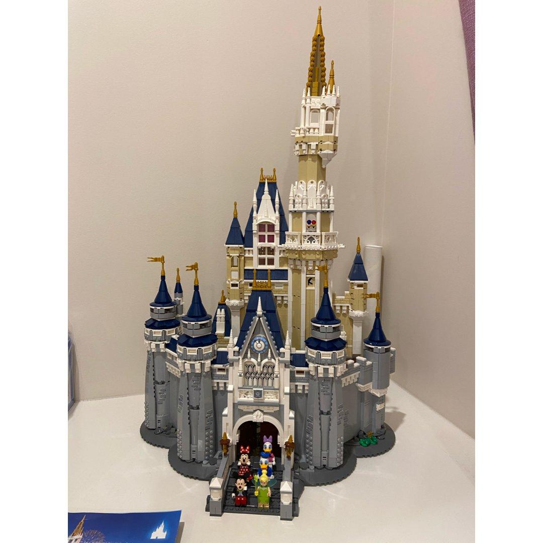 城堡终于拼好了!