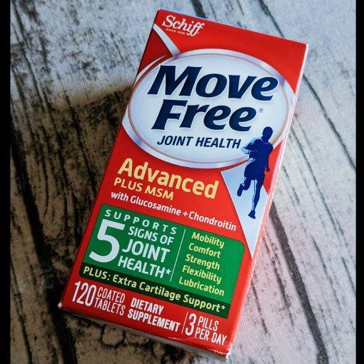 兑换商城的兑换礼品🎁:Move Free 维骨力