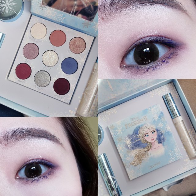 Colourpop Elsa盘眼妆分享