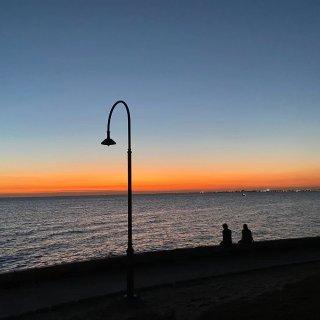 夕阳大海,四季可爱🌆...