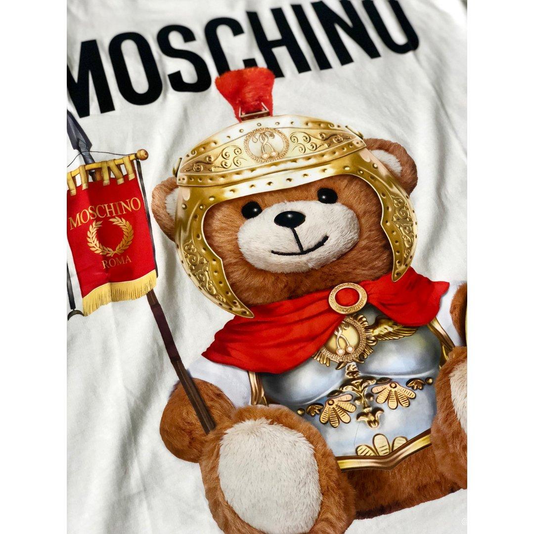 Moschino泰迪熊T恤🐻熊控必...