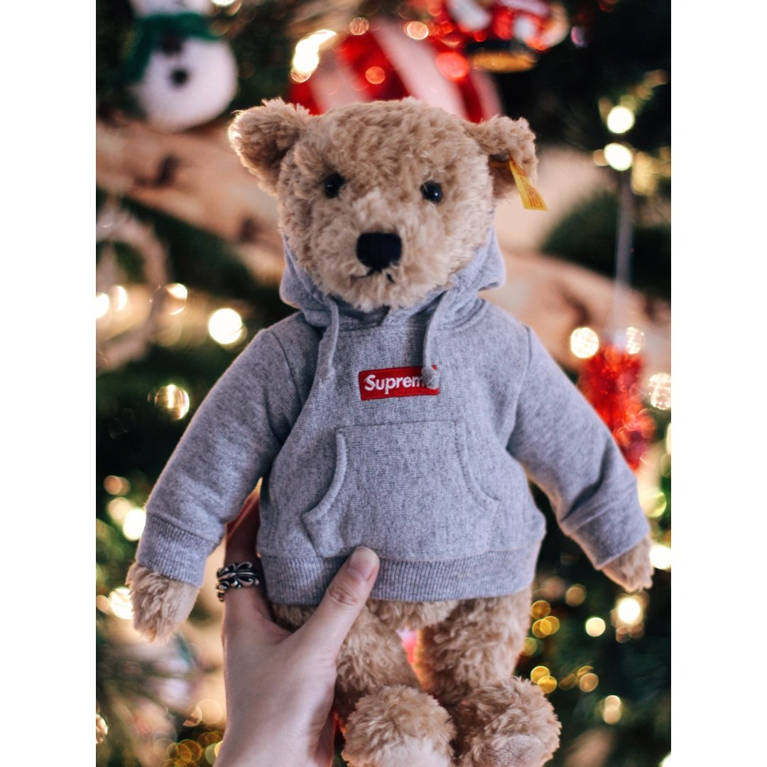 Supreme,Teddy Bear 泰迪熊,Chrome Hearts 克罗心