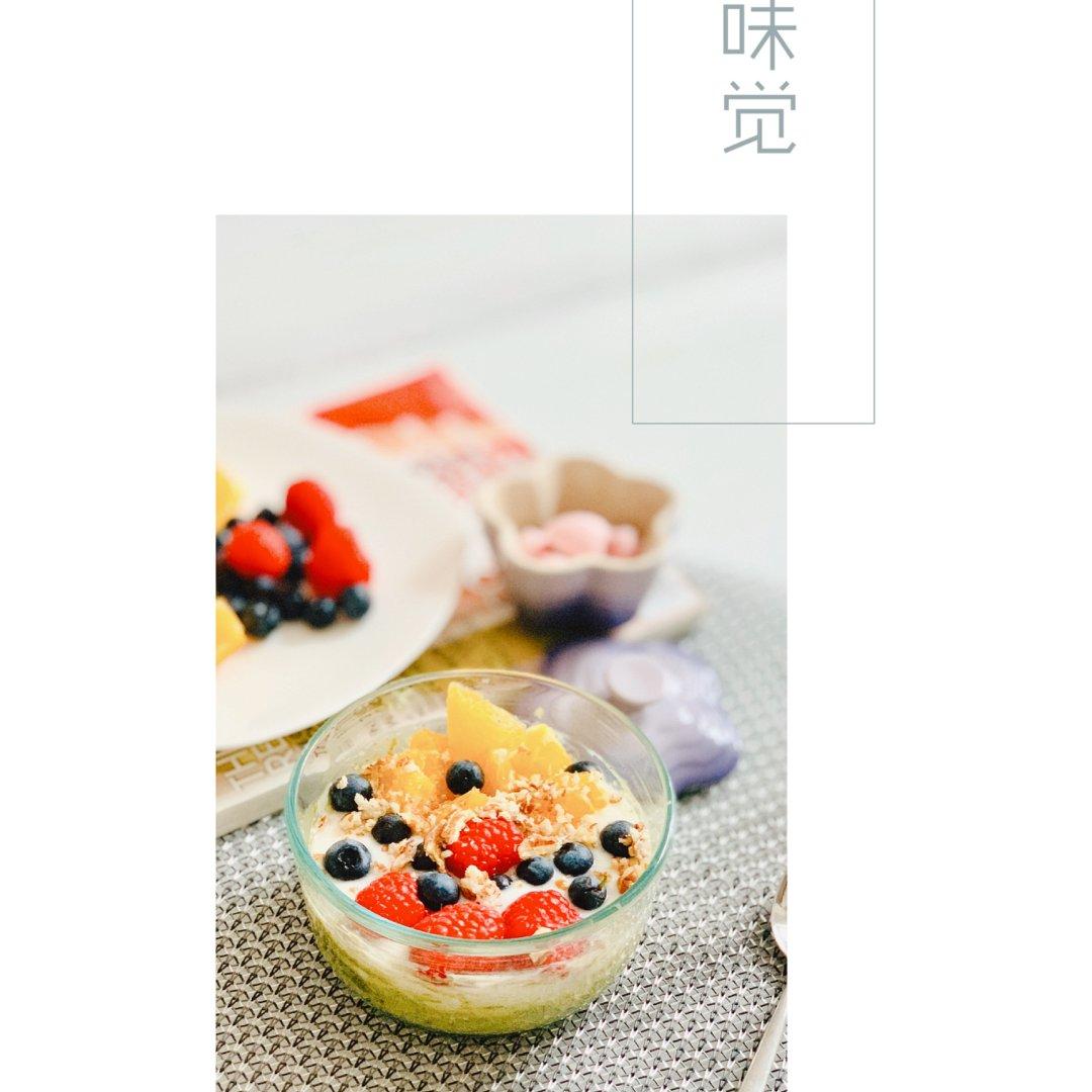 无法忘却的早餐🌟水果燕麦碗🌟再吃一次😋...