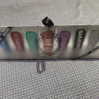 marvis牙膏set