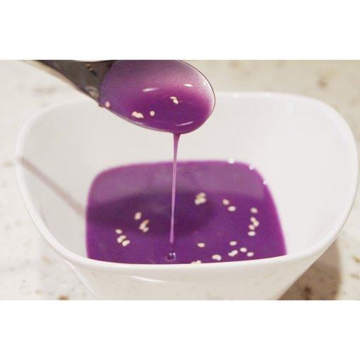 豆浆机版紫薯米糊和核桃花生米糊,营养均衡,老少咸宜。