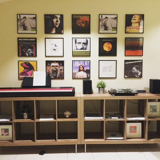 My vinyl collecti...
